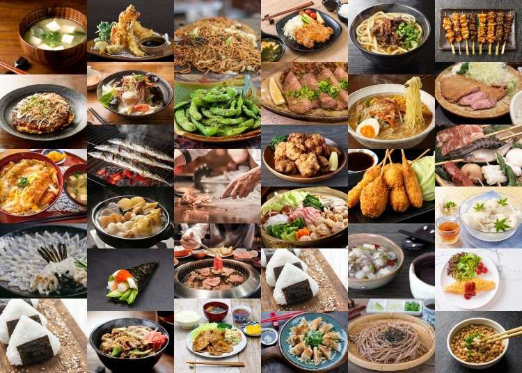 Food in Japan: 32 Popular Japanese Dishes You Need To Try!