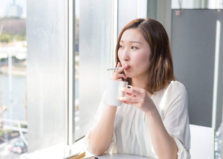 5.可以在餐廳或居酒屋內吸菸