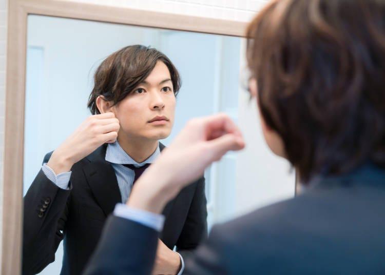 6.很多日本男性都會好好梳妝打扮