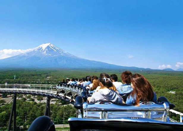 FujiQ Highland: Explore Japan's Most Exciting Amusement Park, Now Free to Enter!
