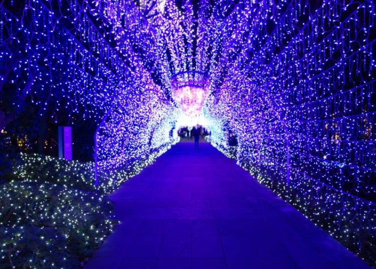●12월 - 겨울하면 '홋카이도'지! 크리스마스 일루미네이션과 불꽃놀이 등 이색 볼거리도