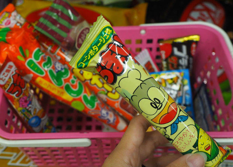 9. Umaibo Corn Potage Flavor (Yaokin) ¥9
