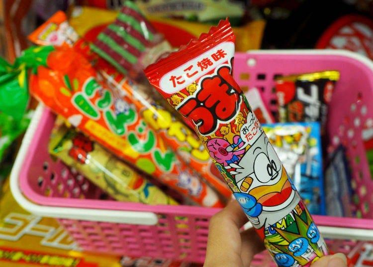 10. Umaibo Takoyaki Flavor (Yaokin) ¥9