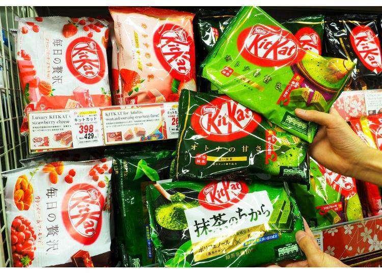 不只有KitKat巧克力可以買!日本零食專門店真心推薦必買零食10款!