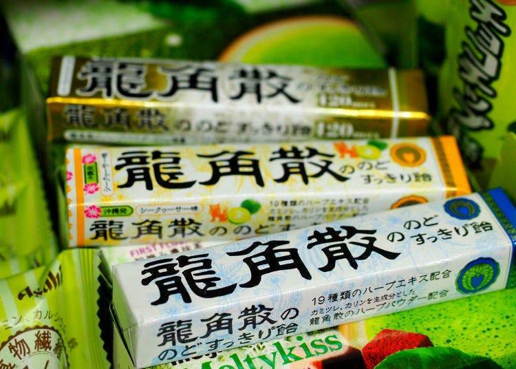 6.龍角散 のどすっきり飴 (UHA味覚糖)