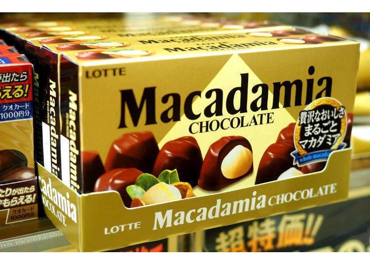 9. 마카다미아 초콜릿(롯데)