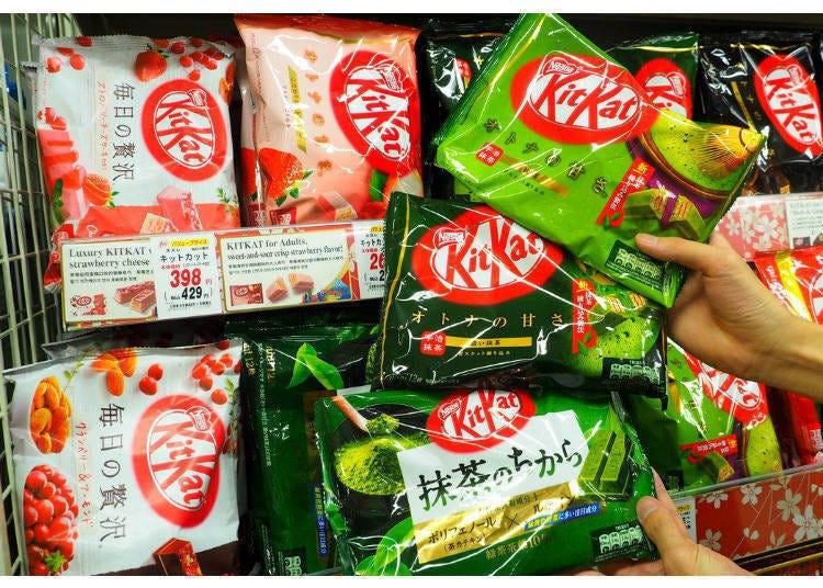 1.雀巢抹茶KitKat(抹茶キットカット)