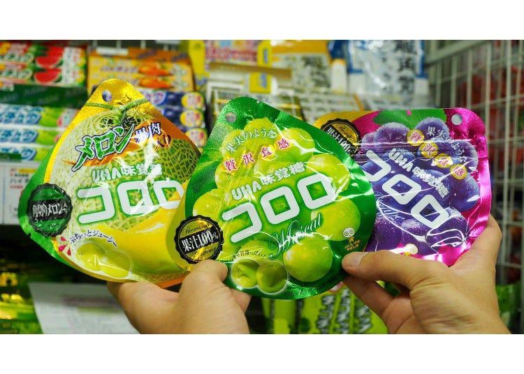 4.UHA味覺糖Kororo酷露露軟糖(UHA味覚糖コロロ)