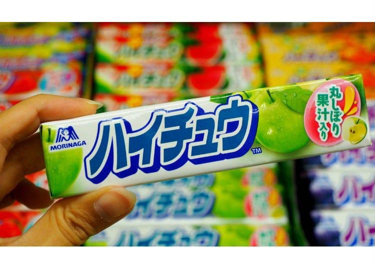 7.森永製菓Hi-Chew系列(森永製菓 ハイチュウシリーズ)