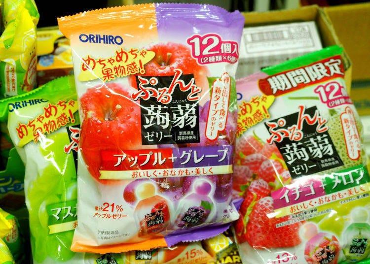 10.ORIHIRO很有彈性的蒟蒻果凍(オリヒロ ぷるんと蒟蒻ゼリー)