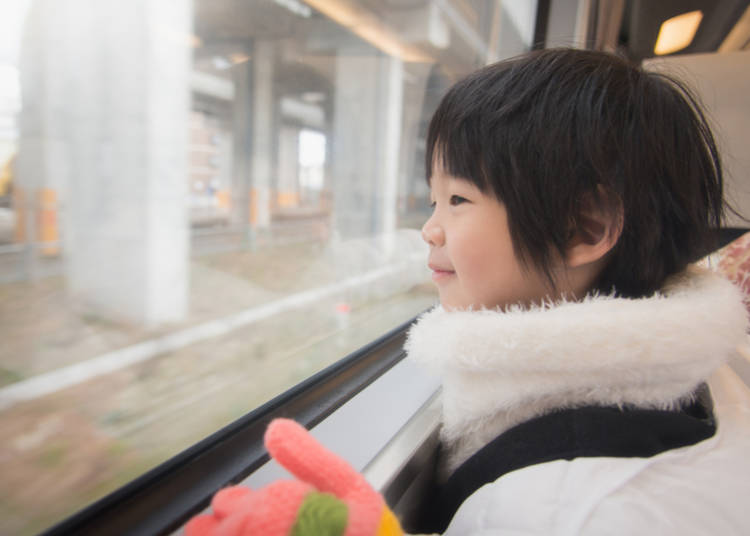 Getting to Tokyo with kids: from Haneda Airport
