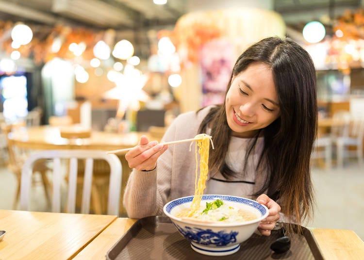 15. Do Japanese people really slurp noodles?