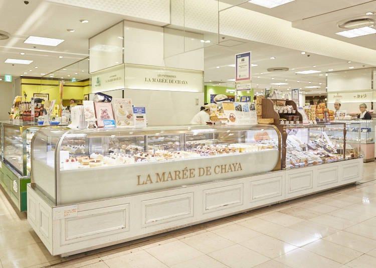 【LA MARÉE DE CHAYA】從新鮮蛋糕到西點應有盡有,來自葉山的法式洋菓子老店