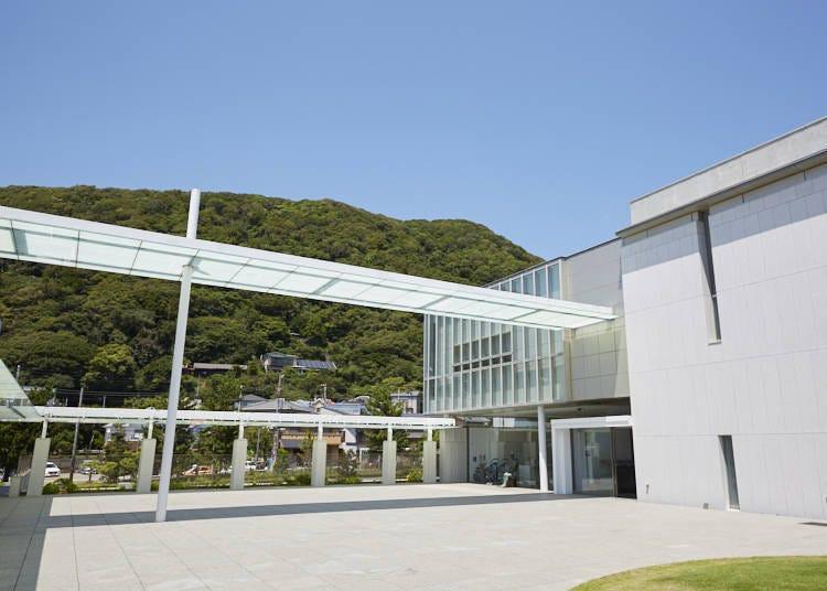 【神奈川縣立近代美術館 葉山】/藝術品與景緻所編織而成的獨一無二的藝術空間