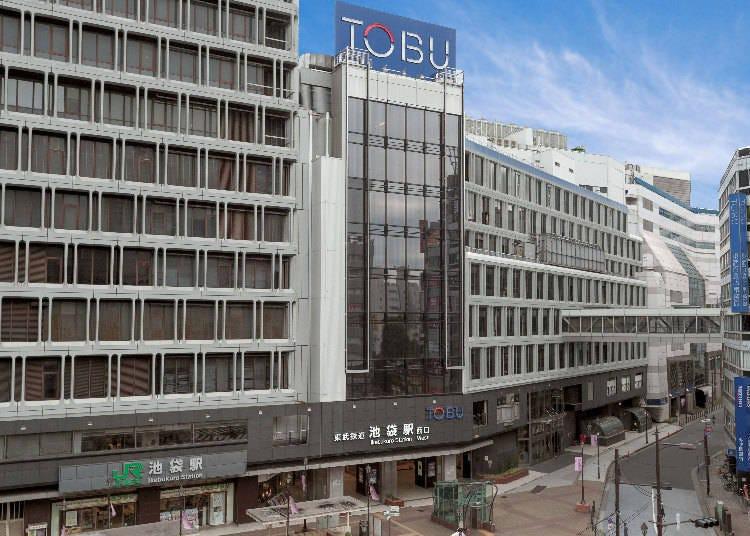 擁有日本最大的賣場面積!感覺就好像真的走在街上「東武百貨店 池袋店」