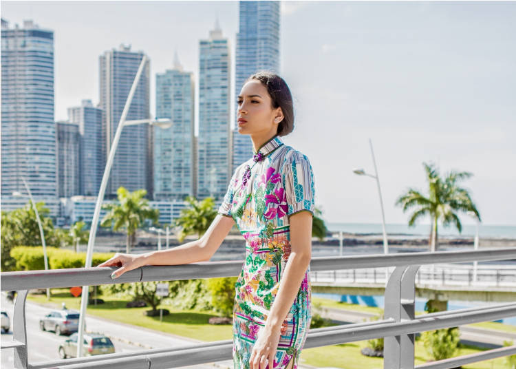 香港の歴史と文化が融合したファッションイベント!/ハイブリッドなおしゃれ:現代チョンサムのコレクション