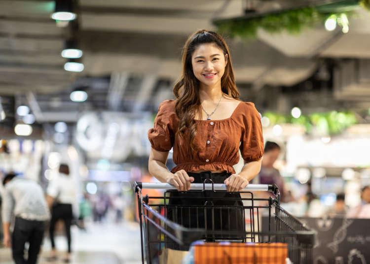 不會日文也能逛日本超市!日本旅遊好用日語-超市常見單字&用得到的簡單會話