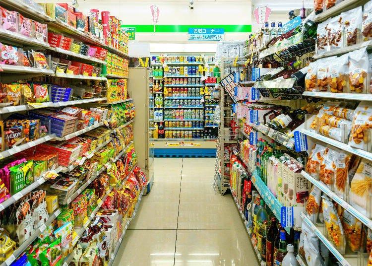 日本三大便利商店的共通點與差異處