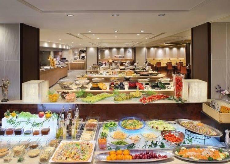 「ASAYA HOTEL」100種和洋料理自助吧,挑戰你的胃力極限