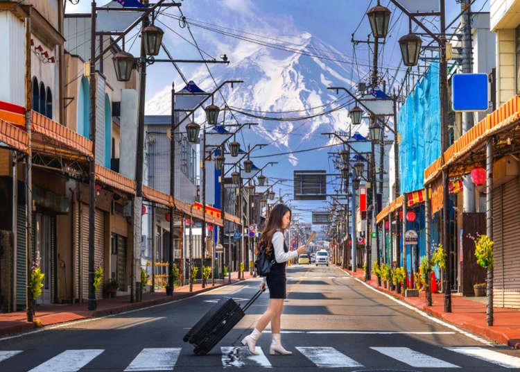 Visiting the Mt. Fuji Area: Perfect One-Day Itinerary for around Lake Kawaguchi