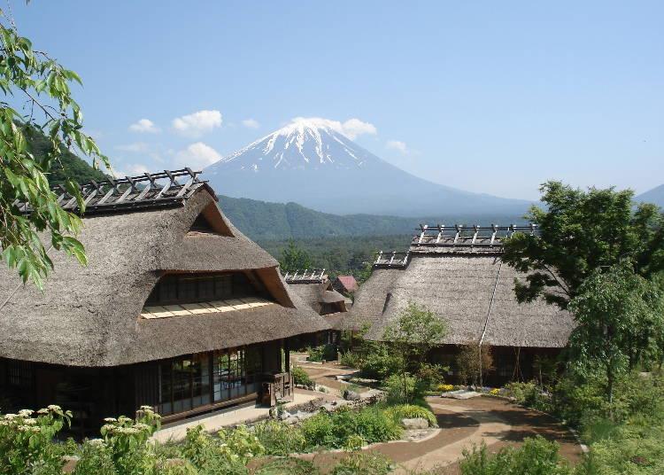 河口湖一日遊行程⑥可體驗以前日本農村風景的「西湖療癒之鄉根場」