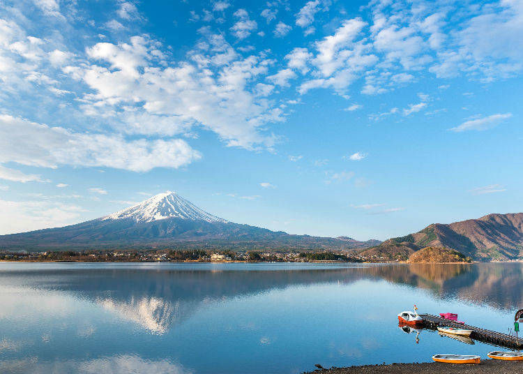 富士山河口湖小簡介