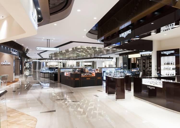 東京都內面積最大的店家,商品品牌高達200種