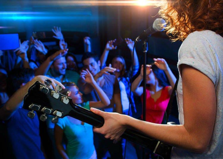 6. Live Music Venues: No General Age Restriction