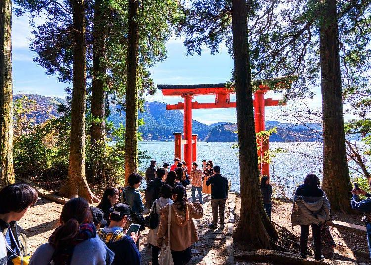 4. Hakone (Kanagawa): Volcanoes and Hot Springs