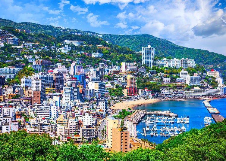 6. Atami (Shizuoka): Japan's Idyllic Hot Spring Resort Area