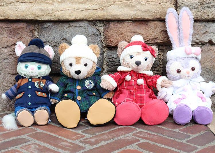 ■達菲&好朋友們的「造型服裝組」每套4800日圓