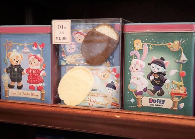 ■最適合達菲粉絲們的伴手禮!「巧克力麵包脆餅」1100日圓
