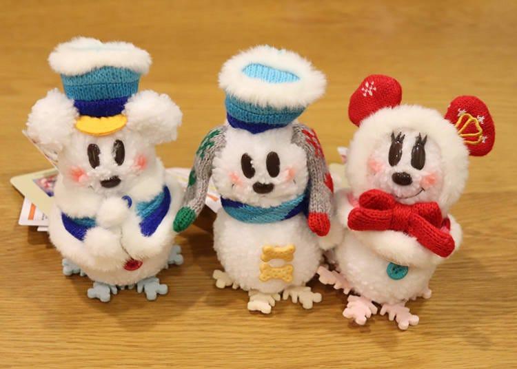 ■首次布魯托也加入成為SnoSnow雪人系列的「玩偶吊飾」每款1500日圓