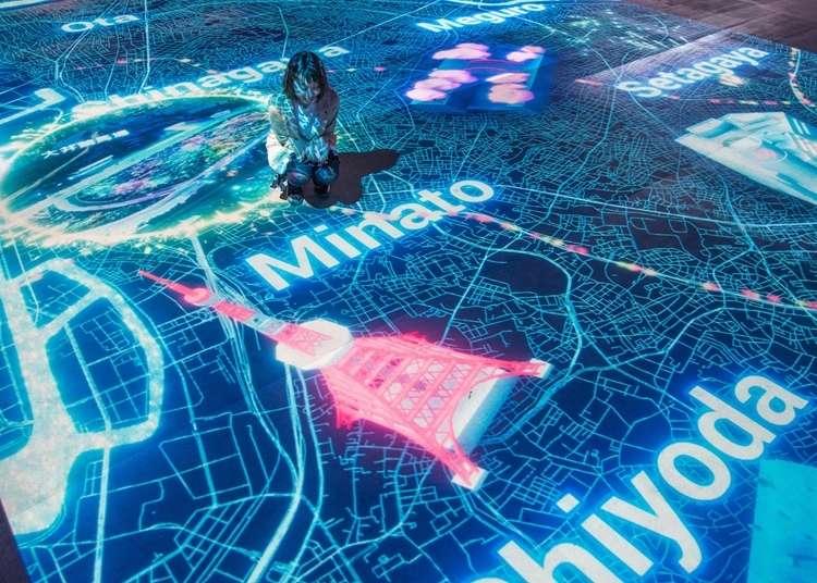 도쿄 일루미네이션 - 도쿄 오오이 경마장에 일본 최대 규모의 일루미네이션이 등장! 환상적인 빛으로 도쿄의 과거와 현재, 미래를 체험하자 (2018-2019)