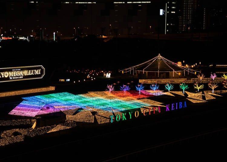 도쿄 중심에서 가까운 편리한 입지: 일루미네이션의 새로운 성지로 초대합니다!