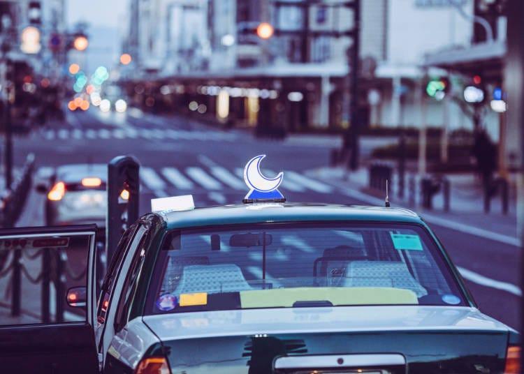 日本計程車不需要自己開關門?