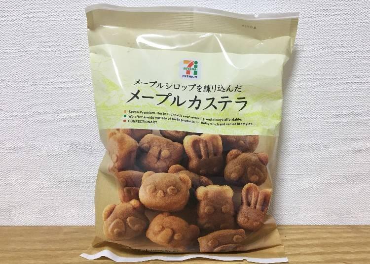 楓糖蜂蜜蛋糕(メープルカステラ)