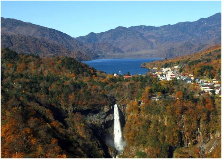1. Kegon Falls - Tochigi Prefecture