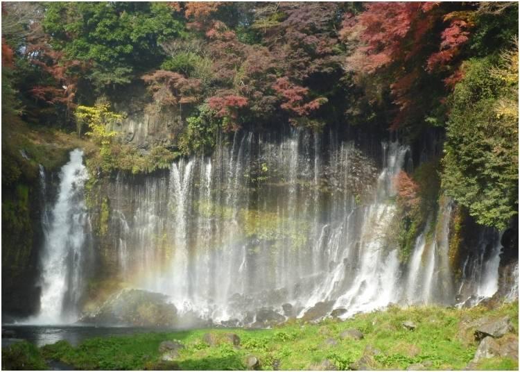 6. Shiraito Falls - Shizuoka Prefecture