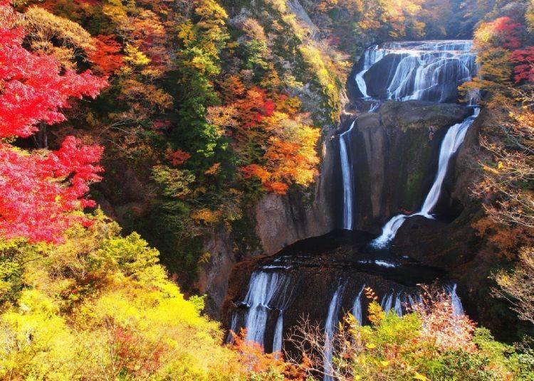 7. Fukuroda Falls - Ibaraki Prefecture