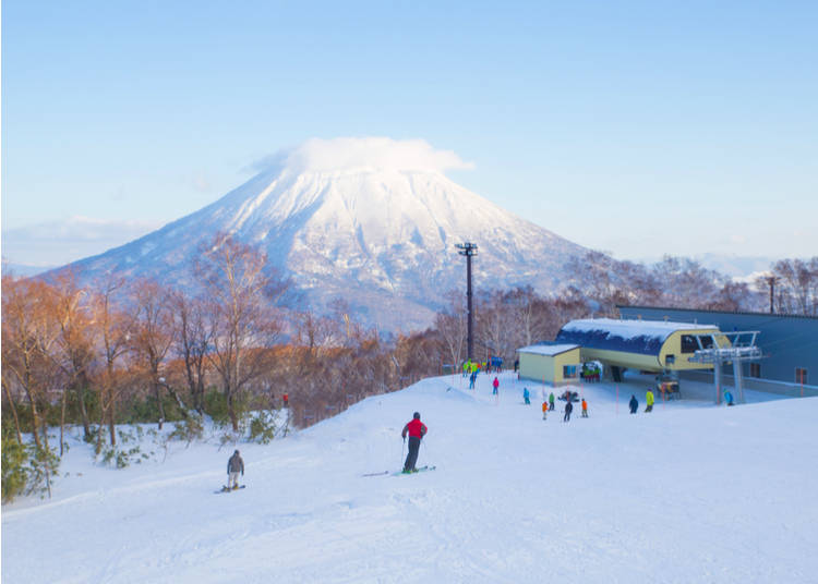 1. Japan has incredible powder and a huge number of resorts