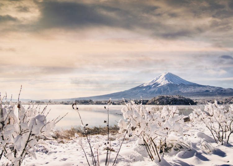 2. Mt. Fuji Area – The Iconic Snow-Covered Mountain of Japan