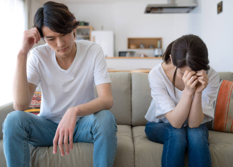 Have you ever felt that, if something happens that makes you want to end your relationship, you might not be able to because you depend on your partner for your visa, or other aspects of your life in Japan?