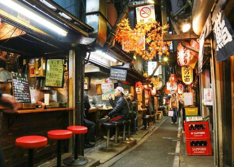 일본여행-도쿄에 온다면 꼭 가봐야하는 3대 요코초(골목식당)은?!! 현지인은 다 이곳에!