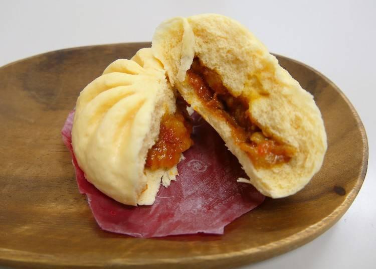 ★세븐일레븐 '우마카라 치즈 닭갈비 호빵' (VAT포함 130엔)