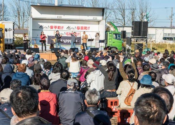 Hokkaido's Sensational Shishamo Festival Serves Smiles All Around to More than 20,000 Visitors!
