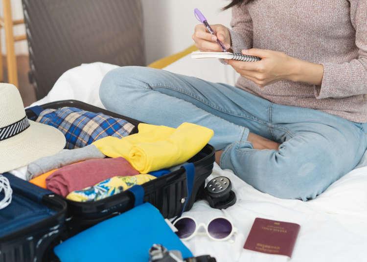 出國準備行李就看這篇!各國人海外旅行時的「必備物品清單」大公開!