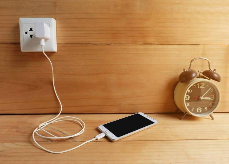<世界共通的必備物品> 不分國家的必備品就是數位器材!「智慧型手機&數位相機&電池」