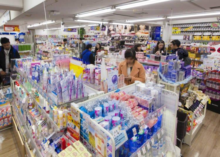 藥妝類:想比價!想省愈多買愈多!就是要到東京藥妝店激戰區之一的上野啦!