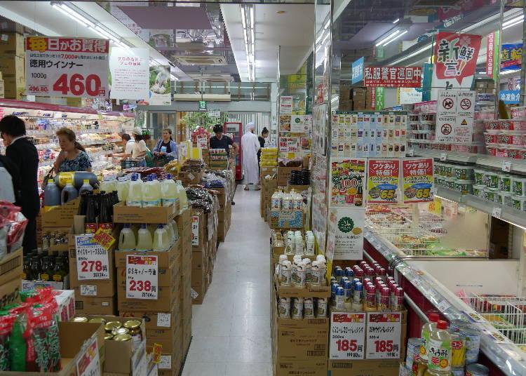③在地人的生活好幫手,補貨就來業務超市